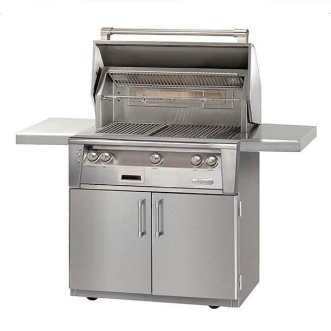 Alfresco 36 Standard Grill On Cart Alxe-36C-Lp - Outdoor Grills