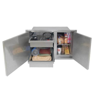 Alfresco 42 X 21 Low Profile Sealed Dry Storage Pantry Axedsp-42L - Grill Accessory
