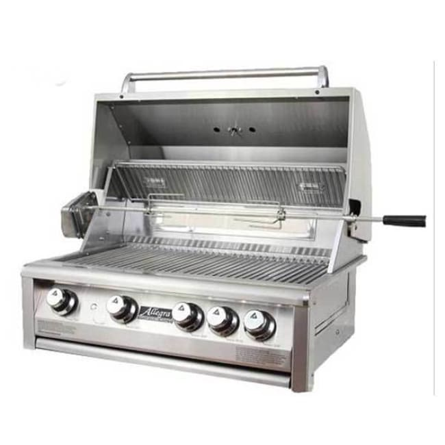 Allegra 32 Stainless Steel Built-In Grill With Rotisserie Aht-Al32R-Bi-C-Ng - Outdoor Grills