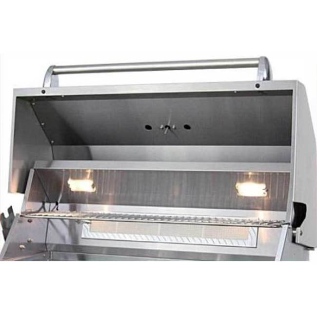 Allegra 38 Stainless Steel Built-In Grill With Rotisserie Aht-Al38R-Bi-T-Ng - Outdoor Grills