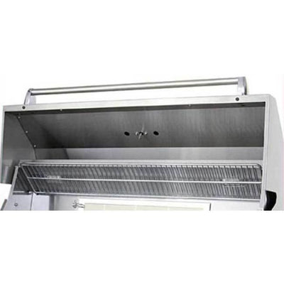 Allegra 38 Stainless Steel Grill On Cart With Rotisserie Aht-Al38Fr-C-Ng - Outdoor Grills