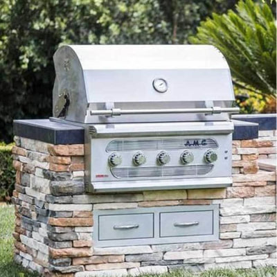 American Muscle Grill 36 Built-In Grill Lp Amg36Lp - Outdoor Grills