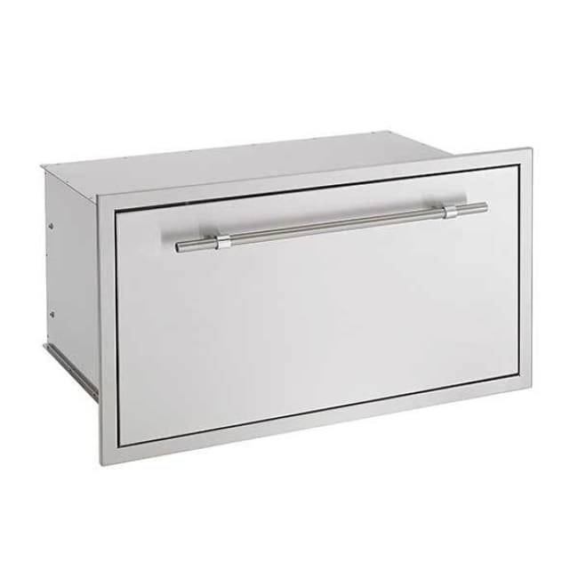American Muscle Grill Fuel Storage Drawer-Double Lined For The Amg Grill Sssd36 - Grill Accessory