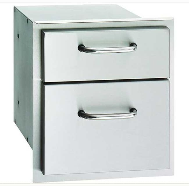 American Outdoor Grill 16 X 15 Double Drawer 16-15-Dssd - Grill Accessory