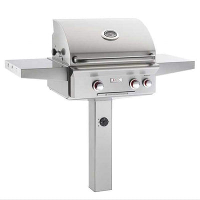 American Outdoor Grill 24 Complete In-Ground Post Grill 24Ngt - Outdoor Grills