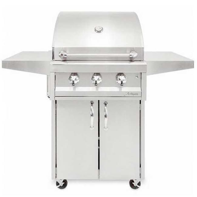 Artisan American Eagle Series 32 3 Burner Grill On Cart Aaep-32C-Ng - Outdoor Grills