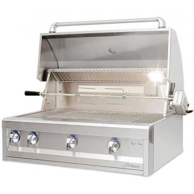 Artisan Professional Series 36 3 Burner Built-In Grill Artp-36-Ng - Outdoor Grills