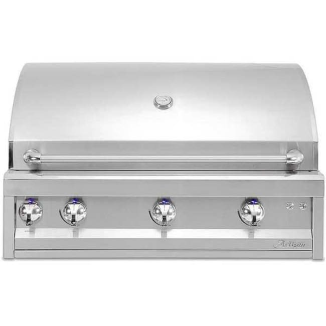 Artisan Professional Series 36 3 Burner Grill On Cart Artp-36C-Ng - Outdoor Grills