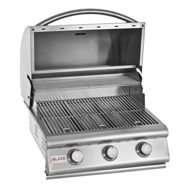 Blaze 25 3 Burner Built-In Grill Head Ng Blz-3-Ng - Outdoor Grills