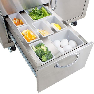 Blaze 30 Cart For Blaze Griddle Blz-Griddle-Cart - Outdoor Grill Carts