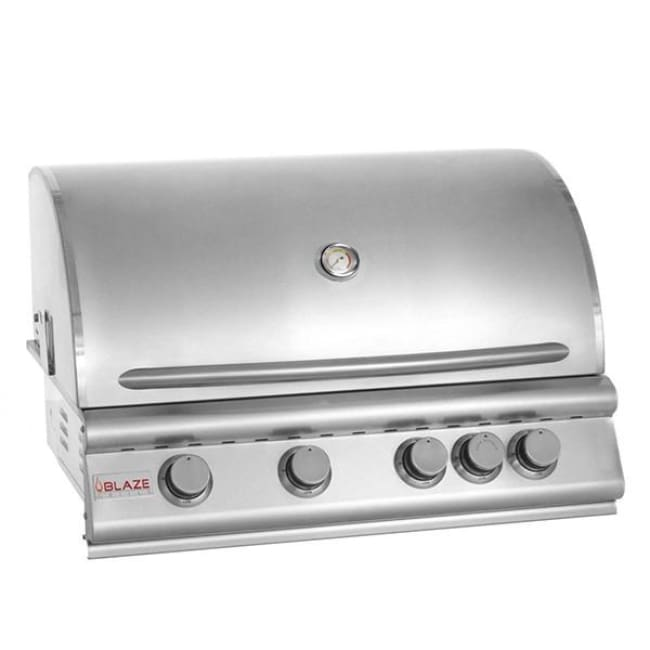 Blaze 32 5 Burner Built-In Grill Head Ng Blz-4-Ng - Outdoor Grills