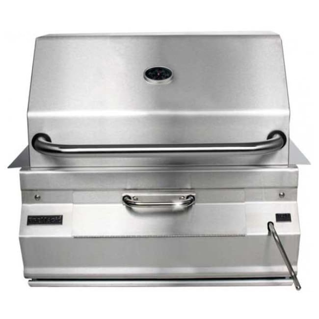 Fire Magic 24 Charcoal Built-In Grill With Smoker Oven/hood 12-Sc01C-A - Outdoor Grills