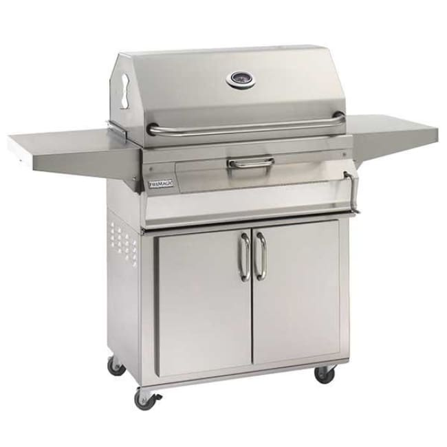 Fire Magic 24 Charcoal Portable Grill With Smoker Oven/hood 22-Sc01C-61 - Outdoor Grills