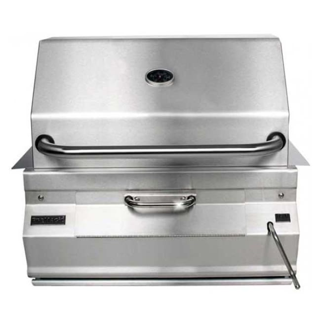 Fire Magic 30 Charcoal Built-In Grill With Smoker Oven/hood 14-Sc01C-A - Outdoor Grills