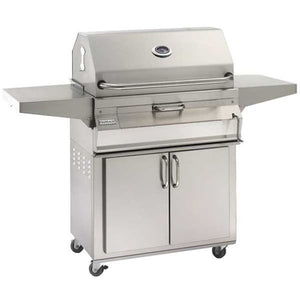 Fire Magic 30 Charcoal Portable Grill With Smoker Oven/hood 24-Sc01C-61 - Outdoor Grills