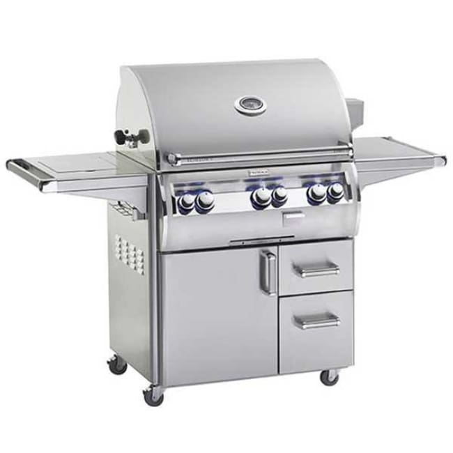 Fire Magic Echelon Diamond 30 Freestanding Gas Grill W/single Side Burner E660S-4E1N-62 - Outdoor Grills