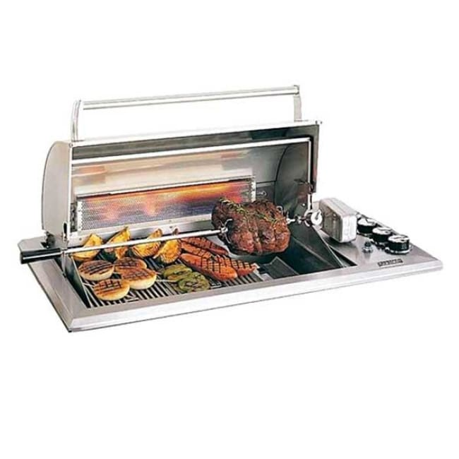 Fire Magic Legacy Regal I Gas Countertop Grill With Rotisserie 34-S1S1N-A - Outdoor Grills