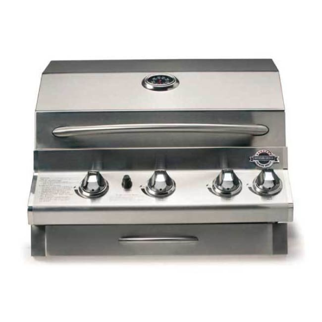 Jackson Grills Lux Series 550 3-Burner Built-In Grill On Cart Ng Jls550Bi-Ng - Outdoor Grills