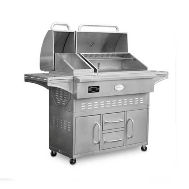 Louisiana Grills Lg Estate 860C Stainless Steel Pellet Grill 60860 - Outdoor Grills