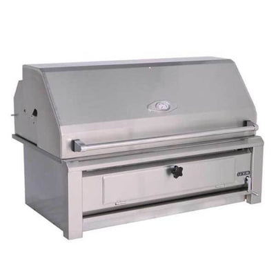 Luxor 42 Built-In Charcoal Grill With Roll Hood Aht-42-Char-Bi - Outdoor Grills