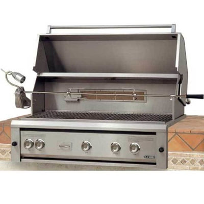 Luxor 42 Built-In Gas Grill Ng With Rotisserie Aht-42Rcv-L-Bi-Ng - Outdoor Grills