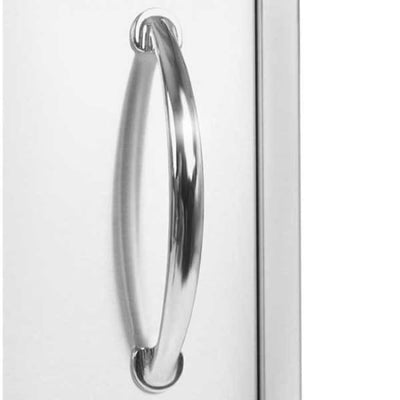 Luxor Medallion 17 Vertical Single Access Door Left Hinged Aht-Adm-2417Vl - Grill Accessory