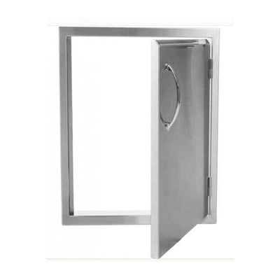Luxor Medallion 17 Vertical Single Access Door Right Hinged Aht-Adm-2417Vr - Grill Accessory