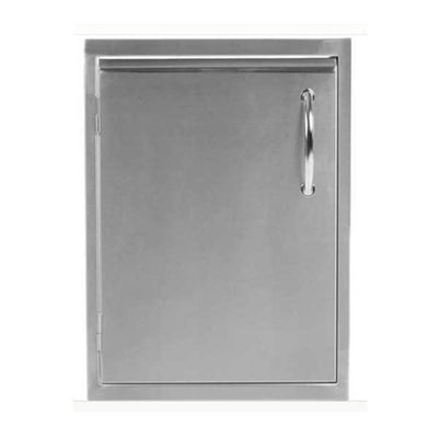 Luxor Medallion 21 Vertical Single Access Door Left Hinged Aht-Adm-2121-L - Grill Accessory