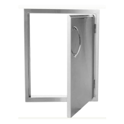 Luxor Medallion 21 Vertical Single Access Door Right Hinged Aht-Adm-2121-R - Grill Accessory