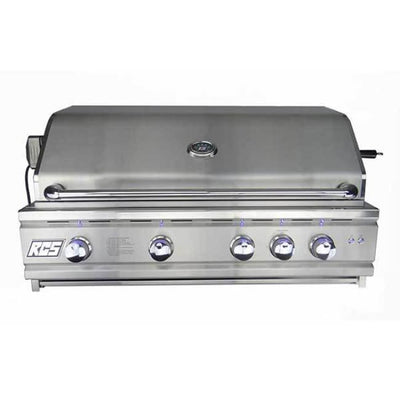 Rcs 42 Cutlass Pro Series Propane Grill Blue Led With Rear Burner Ron42A-Lp - Outdoor Grills