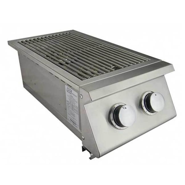 Rcs Premier Series Propane Slide-In Double Side Burner Rjcssb-Lp - Outdoor Grills