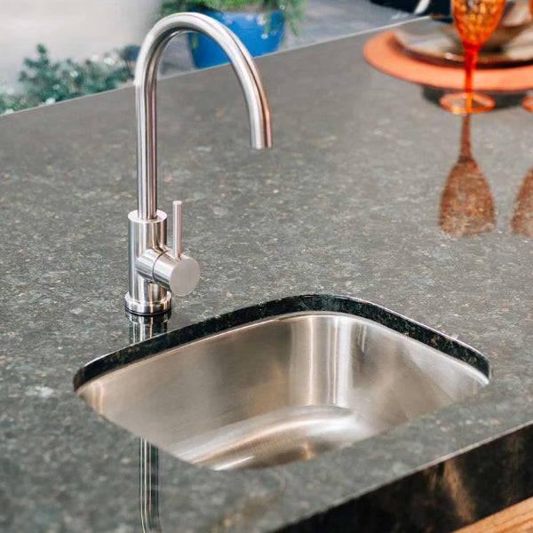 "Summerset  Sink, Undermount - 19"" x 15"" Stainless Steel with 360º Hot and Cold Faucet -SSNK-19U"