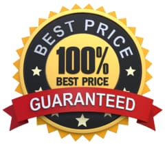 100% Shoppers Best Price Guarantee