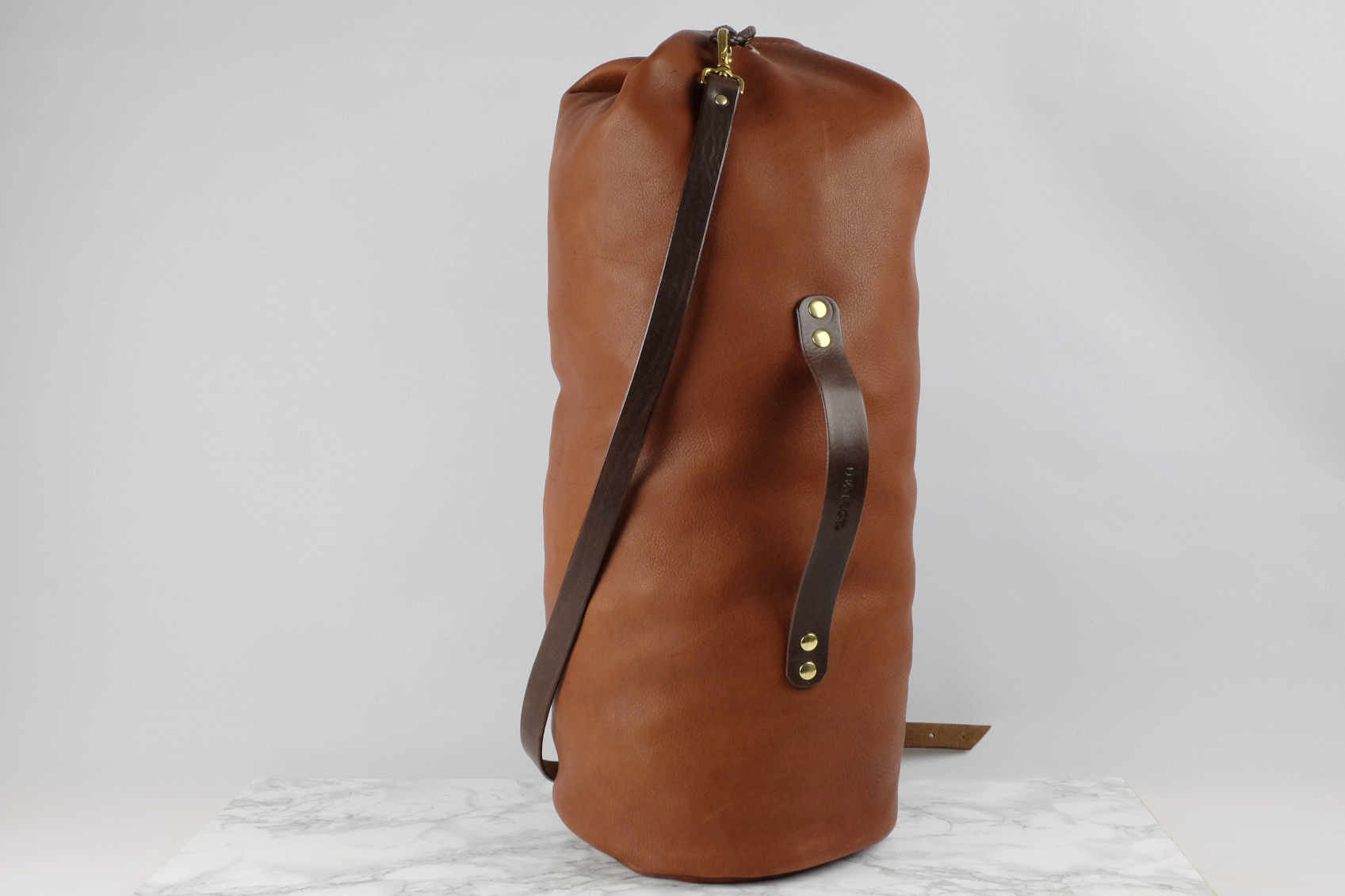 Join The Journey: Our New Leather Duffel Bag