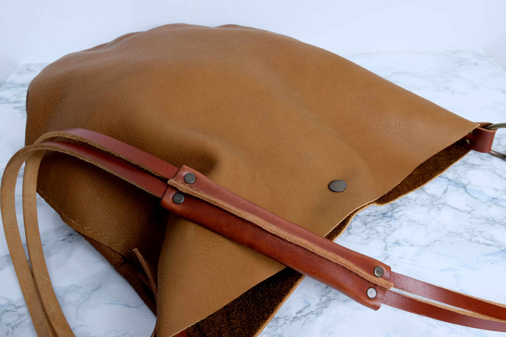 Leather Boho Handbag