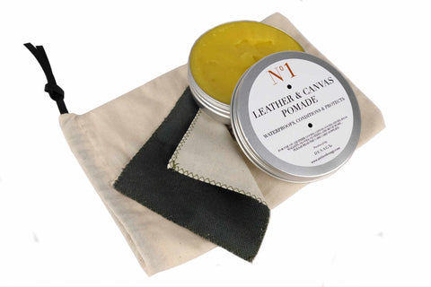 Leather and canvas waterproof cream