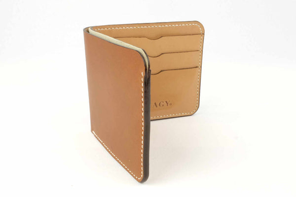 6 Card Leather Bifold Wallet