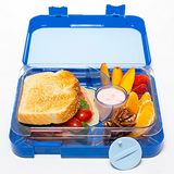 Blue - 4 compartments