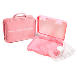 Pink - 4 compartments
