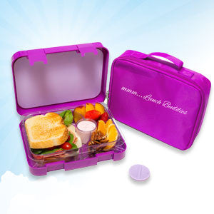 Purple - 4 compartments