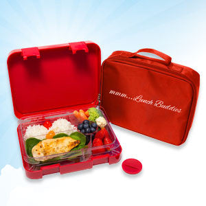Red - 5 compartments