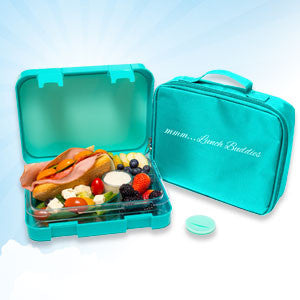 Turquoise - 4 compartments