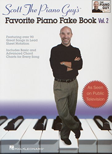 Scott The Piano Guys Favorite Piano Fakebook Vol. 2