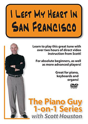 The Piano Guys 1-on-1 Series: I Left My Heart in San Francisco DVD