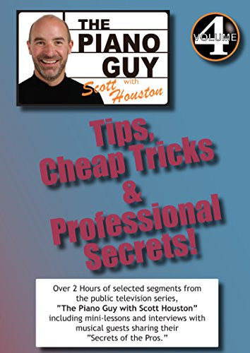 The Piano Guys Tips, Cheap Tricks & Professional Secrets - Vol 4 DVD