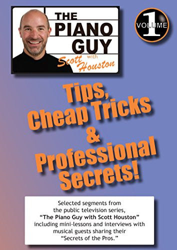 The Piano Guys Tips, Cheap Tricks & Professional Secrets - Volume 1 DVD