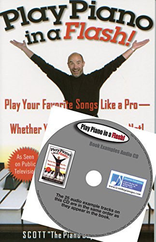 Play Piano in a Flash Book & Examples Audio CD Set
