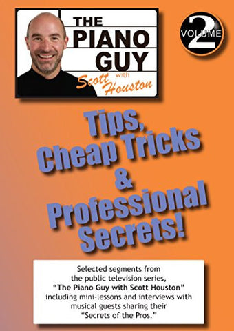 The Piano Guys Tips, Cheap Tricks & Professional Secrets - Volume 2 DVD