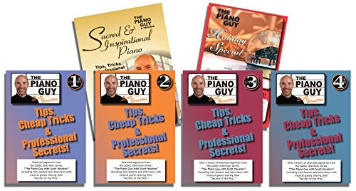 The Piano Guys Tips, Tricks & Professional Secrets DVD 6 Pack