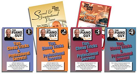 Scott Houston The Piano Guys Tips, Tricks & Professional Secrets DVD 6 Pack